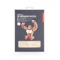 3D-Holzpuzzle - Gorilla