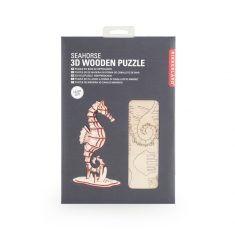 3D-Holzpuzzle - Seahorse