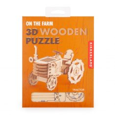 3D-Holzpuzzle - Tractor