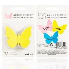 3D Klebezettel - Schmetterling