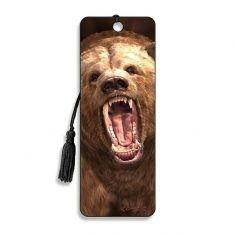 3D-Lesezeichen - Grizzly