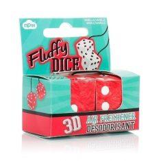 3D Lufterfrischer - Fluffy Dice