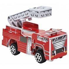 3D-Puzzle Feuerwehr mit Rückziehmotor