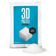 3D-Puzzle Zuckerwürfel
