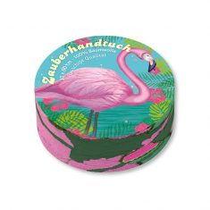 Zauberhandtuch - Flamingo