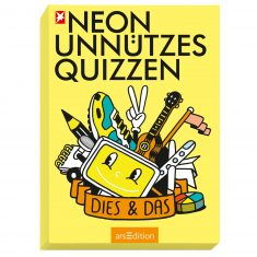 Neon Unnützes Quizzen - Dies & Das