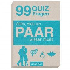 Quizkarten - Alles, was ein PAAR wissen muss