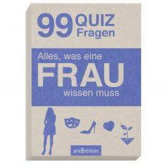 Quizkarten - Alles, was eine FRAU wissen muss