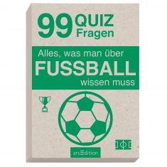 Quizkarten - Alles, was man über FUSSBALL wissen muss