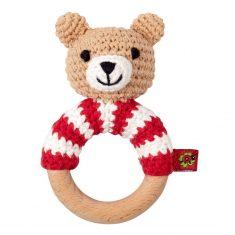 Häkel-Ringrassel Teddy BabyGlück