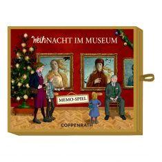 Schachtelspiel - Memo-Spiel WeihNacht im Museum