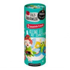Filzanhänger - 2 fantastische Freunde, Fee & Schmetterling