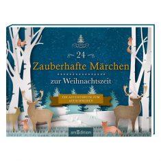 Adventskalenderbuch - 24 Zauberhafte Märchen zur Weihnachtszeit