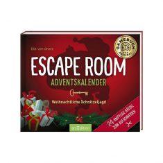 Adventskalenderbuch - Escape Room, Weihnachtliche Schnitzeljagd