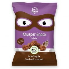 3er-Pack Knusper Snack - Schoko, Bio