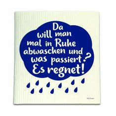 Spüllappen - Es regnet