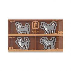 Büroklammern E-CLIPS - Dogs, 16 Stück