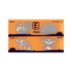 Büroklammern E-CLIPS - Small Animals, 16 Stück