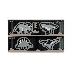 Büroklammern E-CLIPS - Dinosaurs, 16 Stück