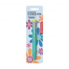 Mehrfarbkugelschreiber 6-farbig - Rainbow Flower Pen