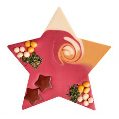 Schokolade Mi-Xing - Stern mit Mandelnougat
