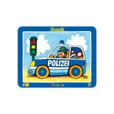 Rahmenpuzzle - Paul der Polizist