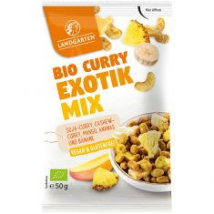 Knabbersnack - Curry-Exotik Mix, Bio