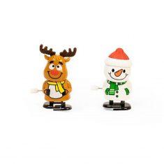 Weihnachts-Aufziehfigur - Warm Wishes