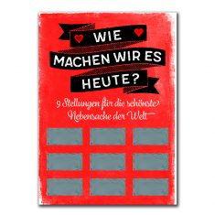 Rubbel-Postkarte - Wie machen wir es heute?