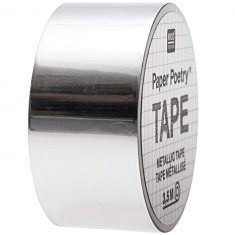 Mirror Metallic Tape, silber