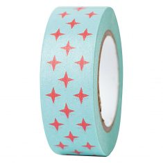 Paper Poetry - Masking Tape, Christmas - rote Sterne