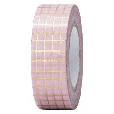 Paper Poetry - Masking Tape, Gitter rosa-gold