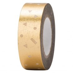 Paper Poetry - Masking Tape, Konfetti gold