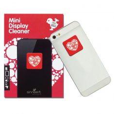 Mini-Display-Cleaner - Herz mit Punkten