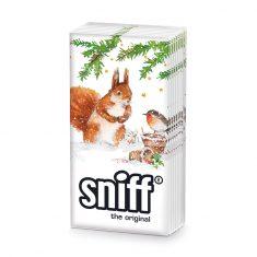 Taschentücher SNIFF - Squirrel & Robin