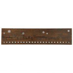Holzschild Adventskalender 1-24 von IB LAURSEN