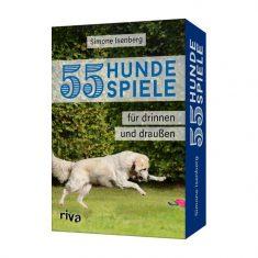 55 Hundespiele für drinnen und draußen