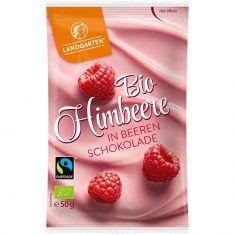 Naschfrüchte - Himbeeren in Beeren-Schokolade, Bio