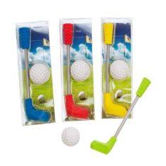 Radiergummis - Golfschläger mit Ball, 2er-Set