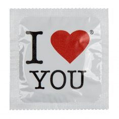 Latex-Kondom - I Heart You