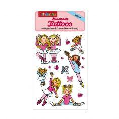 Diamant-Tattoos - Ballett 2