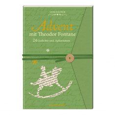 Lesezauber: Advent mit Theodor Fontane - Briefbuch zum Aufschneiden