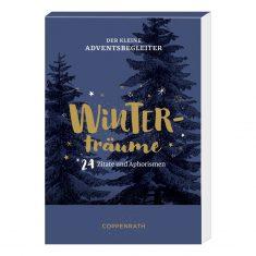 Aufstell-Adventskalender, Der kleine Adventsbegleiter - Winterträume