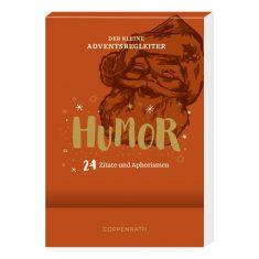 Aufstell-Adventskalender, Der kleine Adventsbegleiter - Humor