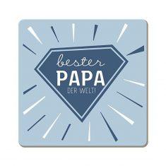 Korkuntersetzer - Bester Papa der Welt!