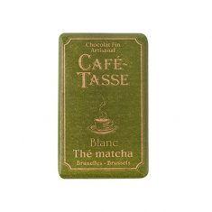 Café Tasse Schokoladentäfelchen - Thé matcha