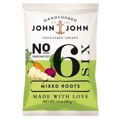 John & John Vegetable Crisps - Mixed Roots