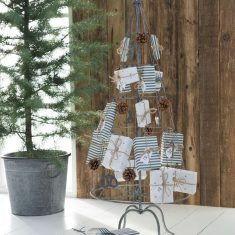 Metall-Tannenbaum stehend mit 24 Haken, von Ib Laursen