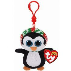 ty Anhänger Beanie Boo Glubschis - Pinguin Penelope