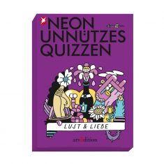 Neon Unnützes Quizzen - Lust & Liebe